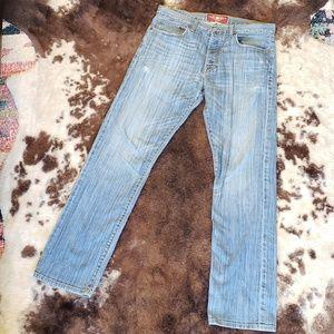 Lucky Brand Men's Light Wash Denim Jean's 32x32